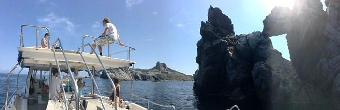 Ma Cigale en mode Snorkeling dans le Parc National de Port-Cros & Porquerolles !