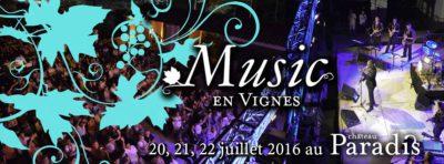 Music en Vignes, c'est le Paradis ! [Concours ]