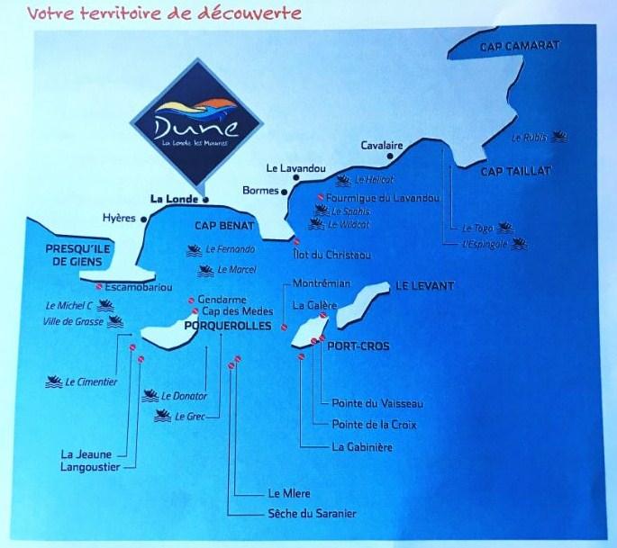 Dune La Londe les Maures - Parc National Port Cro
