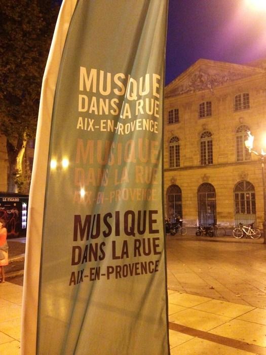 Musique dans la rue - Aix en Provence