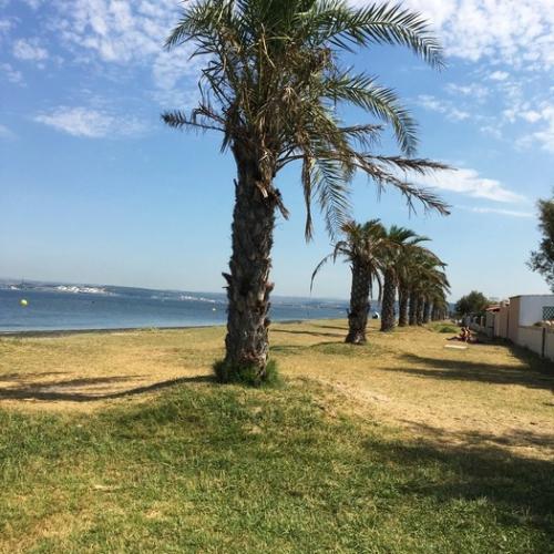 La plage du Jaï de Marignane