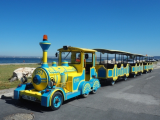 Petit train Marignane plage du Jaï