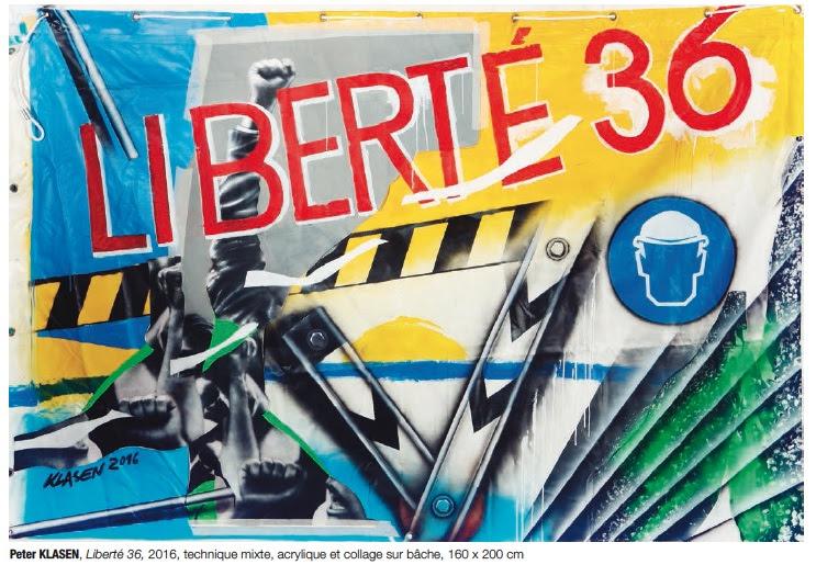 Expo 36/36 - Peter Klasen - Liberté 2016