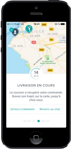 Deliveroo Marseille - LIvraison en live