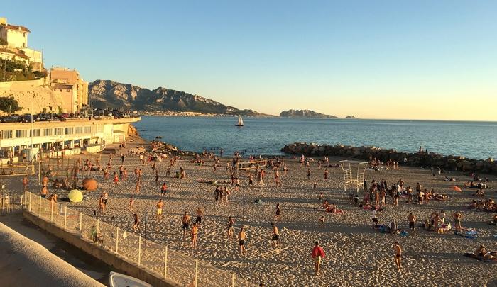 Plage du prohète Marseille