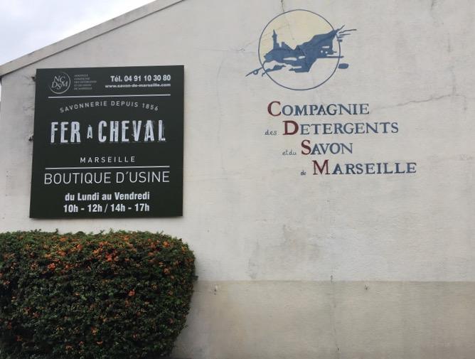 Savon de Marseille - Savonnerie Fer à Cheval - Marseille