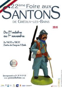 22e Foire aux Santons de Gréoux Les Bains