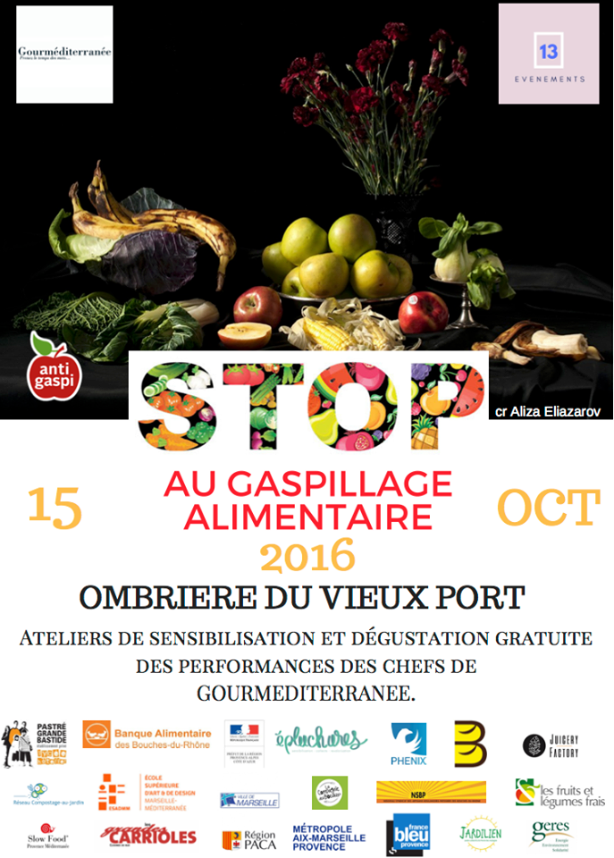 Stop au gaspillage alimentaire ! - Marseille