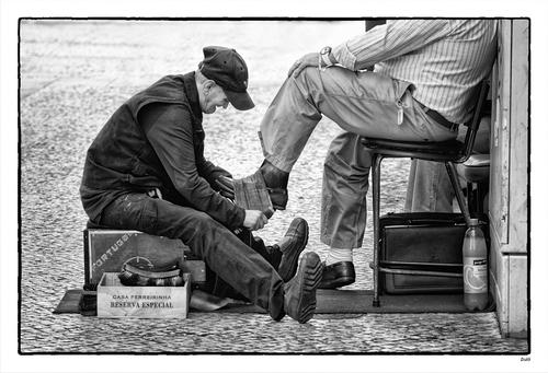 Cireur de chaussures