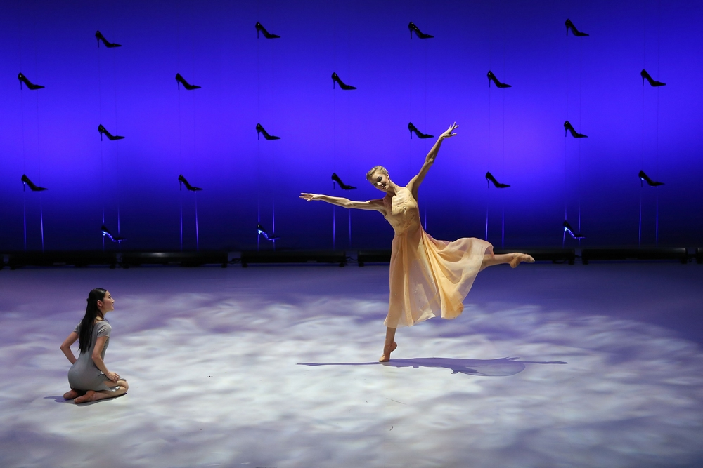 Claire Lonchampt et Miyuki Kanei, Cendrillon © Olivier Houeix
