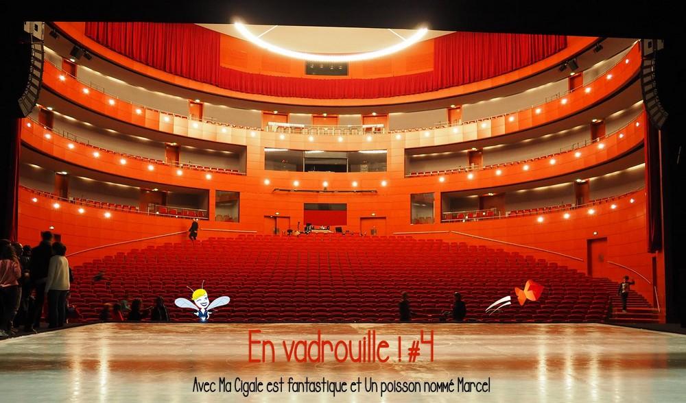 En Vadrouille#4 au Grand Théâtre de Provence avec le poisson Marcel et ma Cigale