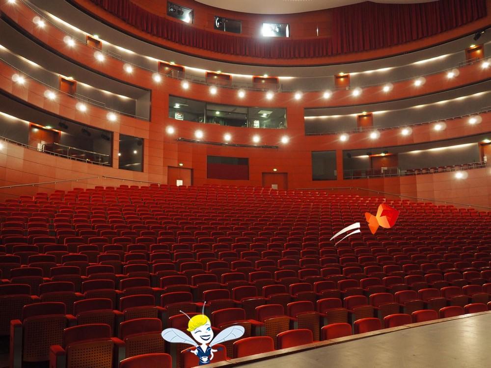 Grand Théâtre de Provence - Aix en Provence- En Vadrouille avec Un poisson Marcel et ma Cigale est Fantastique