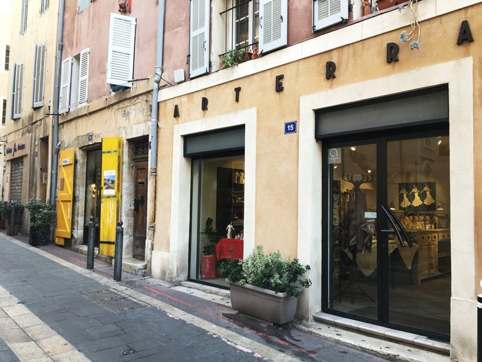 Arterra - Atelier santon - Quartier du Panier - Marseille