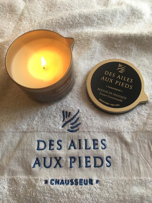 bougies de massage Nipavalli - Des Ailes Aux Pieds