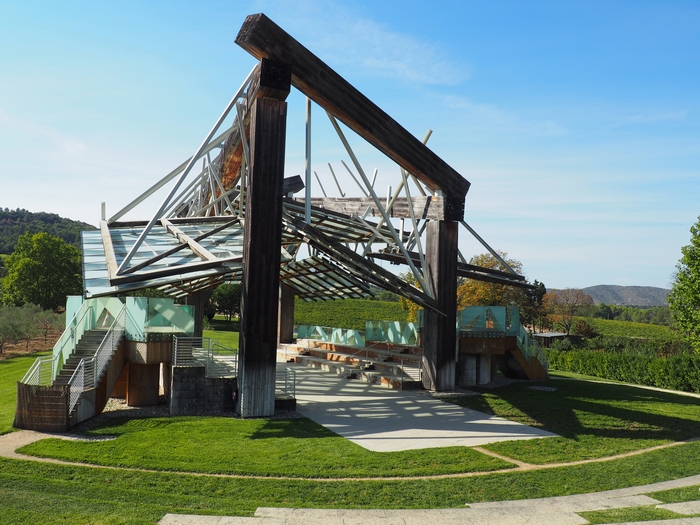 Pavillon de Musiqe - Frank O. Gehry - Château La Coste