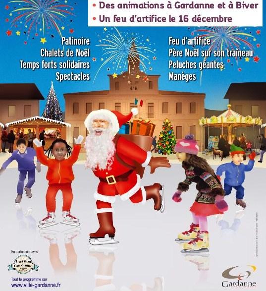 marché Noël Gardanne / Biver