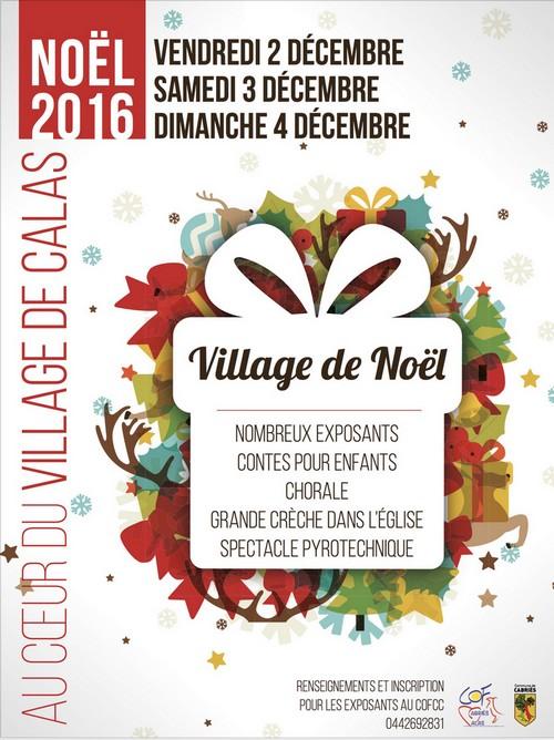Village de Noël Calas