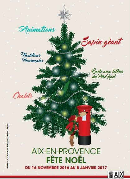 Aix en Provence fête Noel