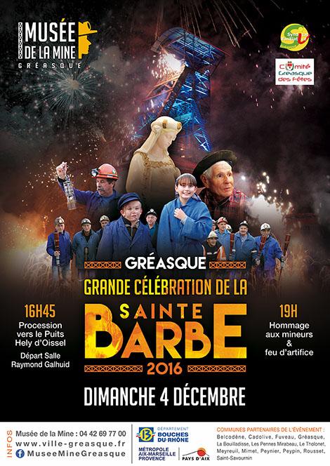 Célébration de la Sainte Barbe - Gréasque