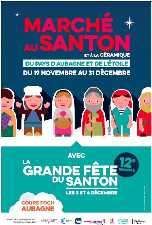 Marché au Santon & 12e biennale de l'Art santonnier - Aubagne