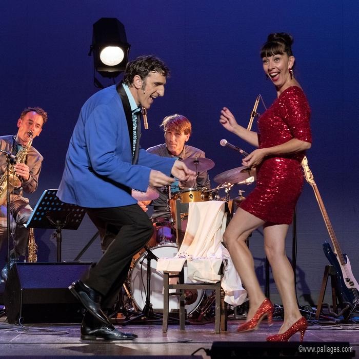 Dino fait son crooner Shirley fait sa craneuse - Théâtredu Gymnase Marseille