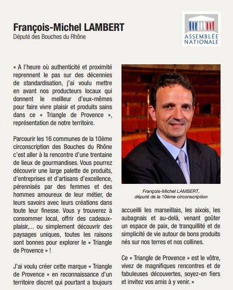 Editorial François-Michel Lambert - Triangle de Provence - 10e circonscription