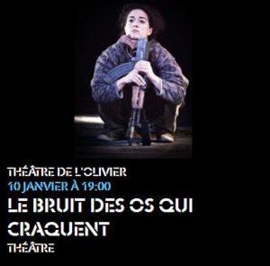 """""""Le bruit des os qui craquent """" Suzanne Lebeau 6 JEU CONCOURS"""