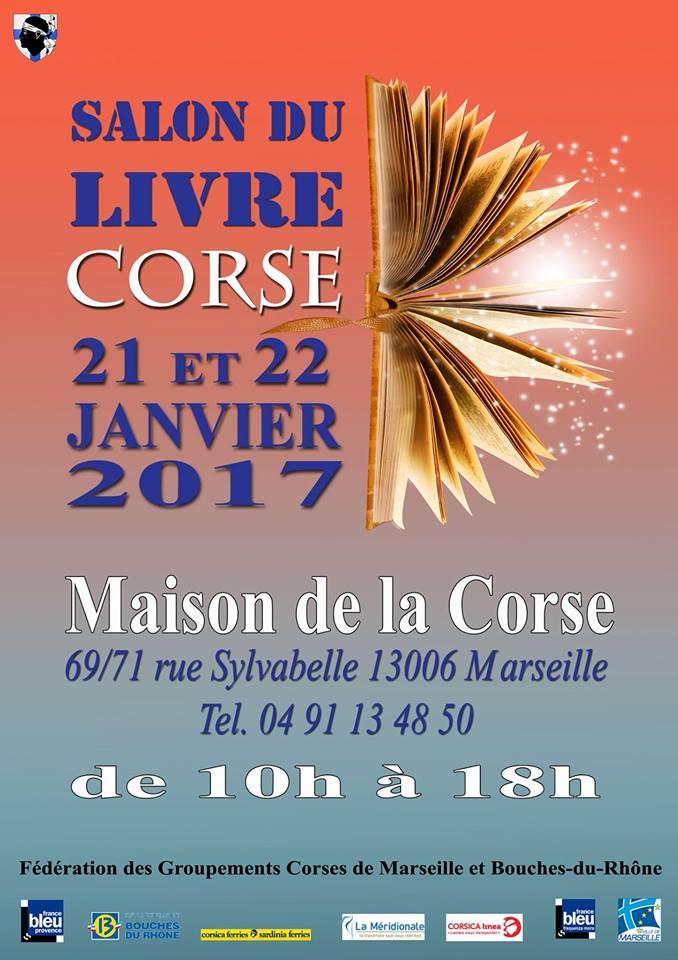 Salon du livre Corse - Maison de la Corse Marseille