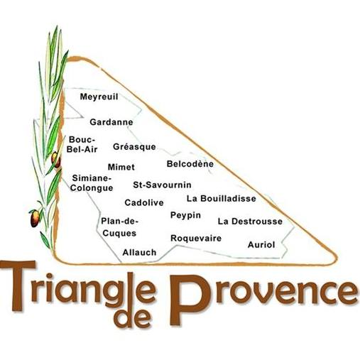 Triangle de Provence - villes de la 10e circonscription