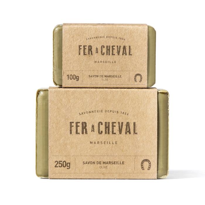 Duo savonnettes olive - Savonnerie du Fer à Cheval - jeu concours saint valentin