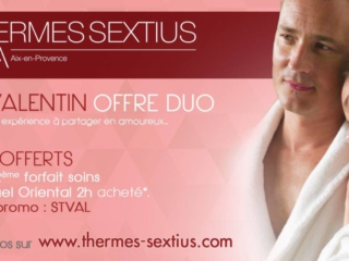 Saint Valentin - Thermes Sextius Aix en Provence
