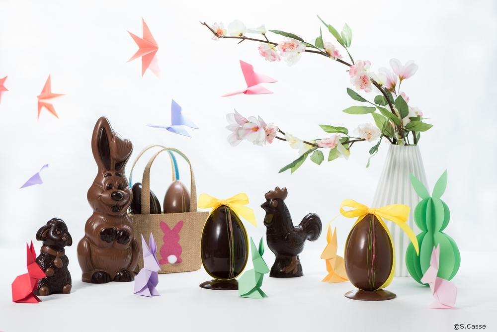 Les fêtes de Pâques à la Chocolaterie de Puyricard