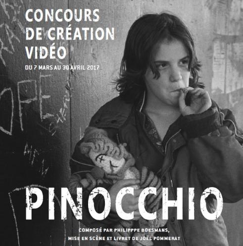 Concours de création vidéo opéra Pinocchio Festival d'Aix
