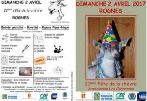 21e fête de la chèvre à Rognes
