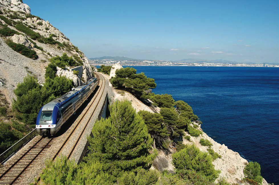 Le Train Bleu de la Côte Bleue