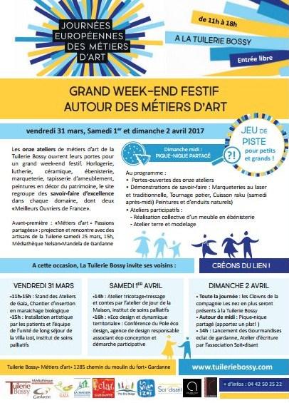 Journées Européennes des Métiers d'Art à la tuilerie Bossy