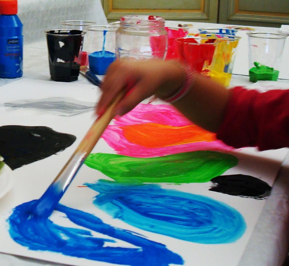 L'appel de la couleur - Ateliers d'Arts Plastiques - les Docks village Marseille