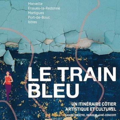 Attention au départ ! Le Train Bleu va partir pour un troisième voyage artistique et culturel !