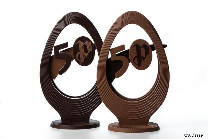 Oeuf de Pâques en série limitée pour l'anniversaire de la ChocolateriePuyricard