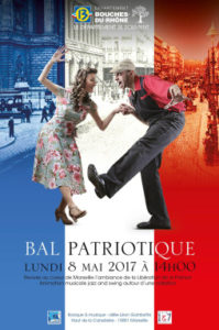 Bal patriotique du 8 mai Canebière Marseille