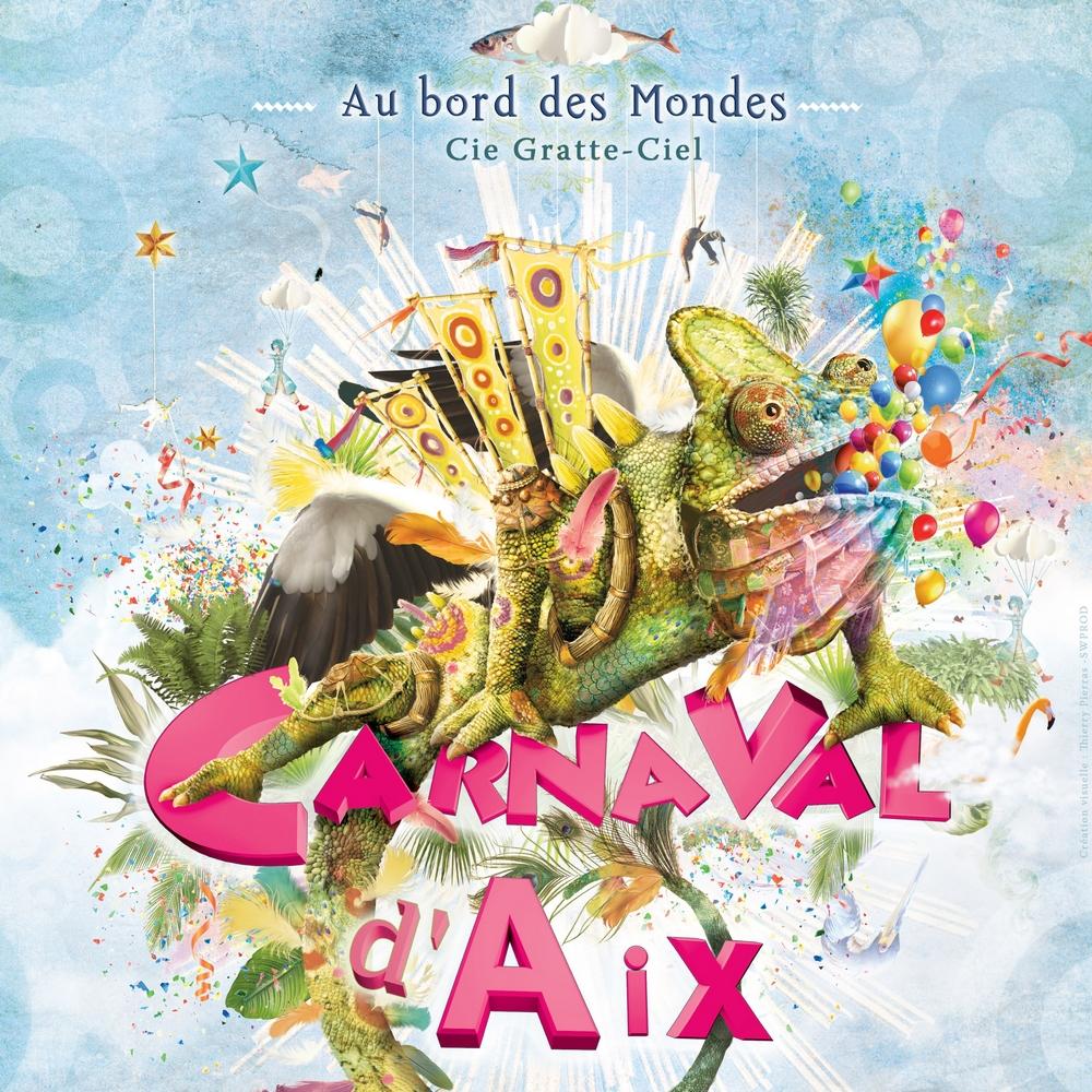 Le Carnaval d'Aix en Provence «Au bord des Mondes»