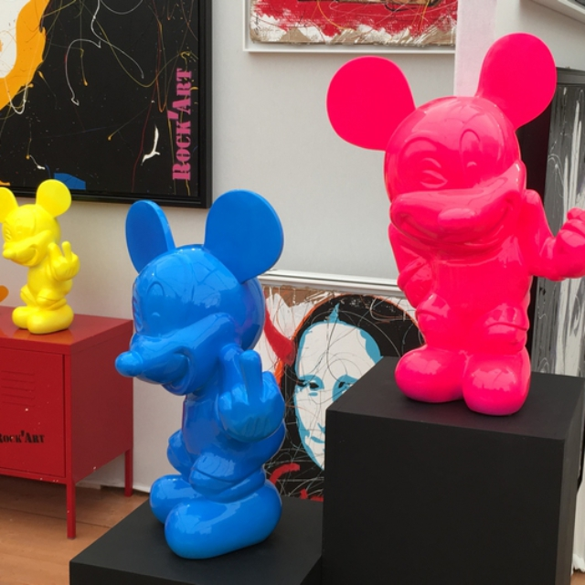 Dominique Capocci - Sm'art Aix - Mickey