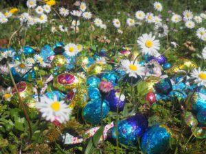 Chasse aux oeufs de Pâques en Provence