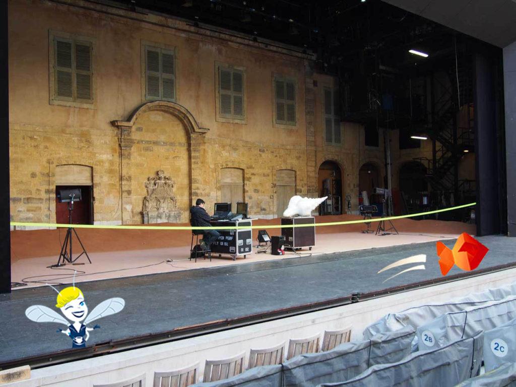 En Vadrouille au Festival d'Aix en Provence -Théâtre de l'Archevêché