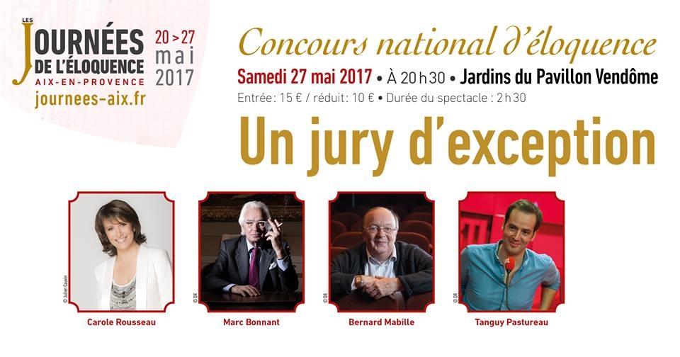Les Journées de l'éloquence - Concours National d'éloquence