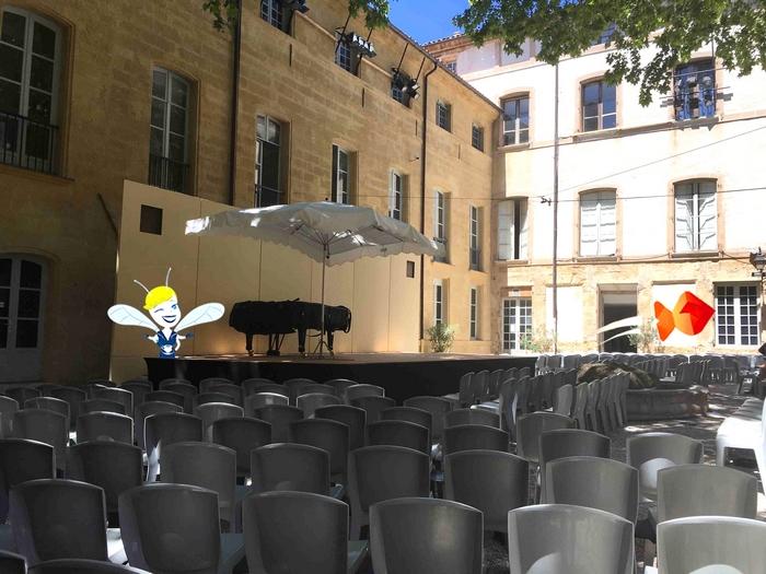 En Vadrouille au Festival d'Aix en Provence - Hôtel Maynier L'Oppède