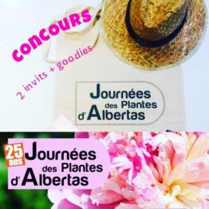 Concours - Les 25e Journées des plantes d'Albertas