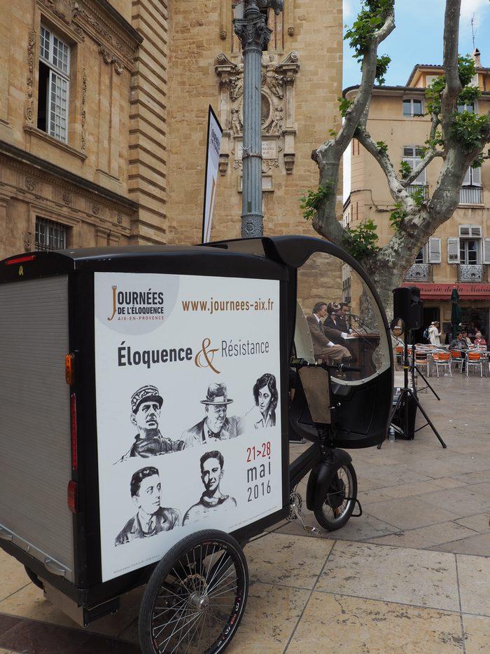 Les Journées de l'éloquence - Scènes de rue