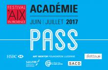 Pass Académie Aix en Juin - Festival d'Aix en Provence