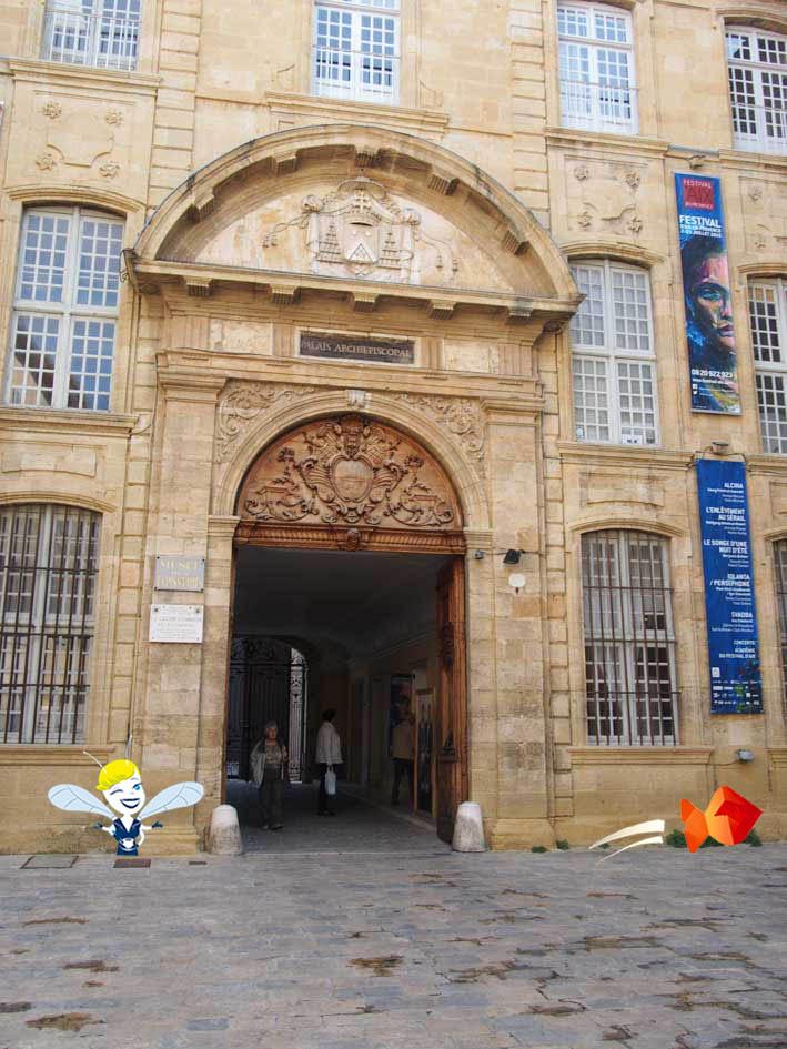 Théâtre de l'Archevêché - Aix en Provence